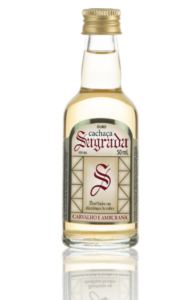 Cachaca Sagrado Ouro Mini